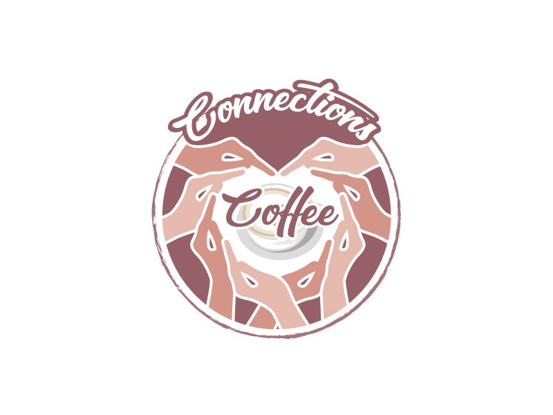 Connections Coffee logo design by aRBy