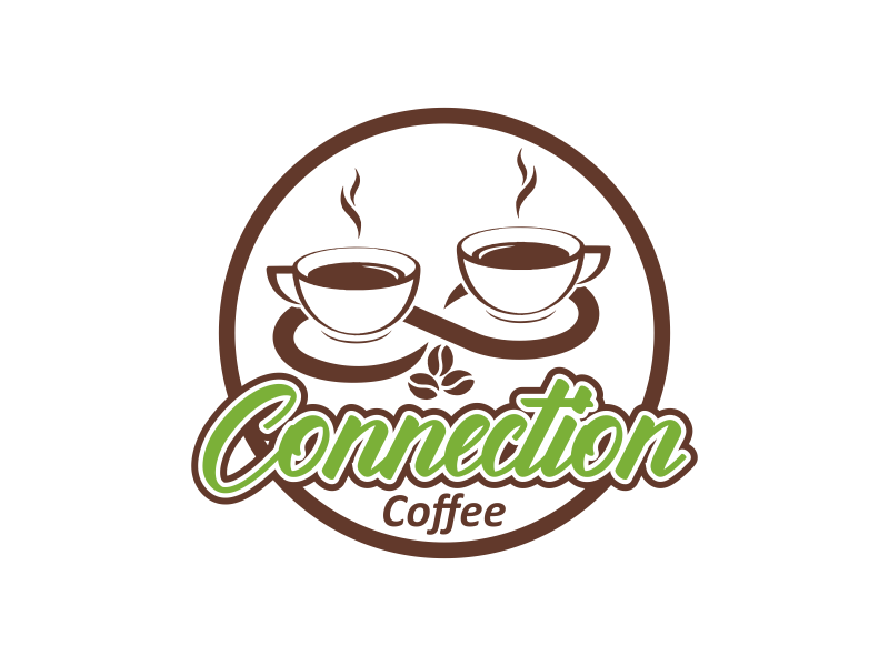 Connections Coffee logo design by veter