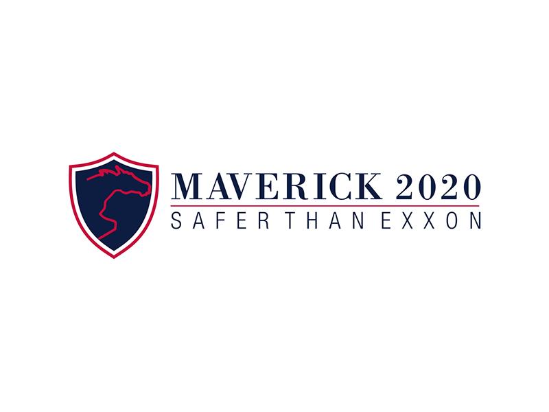 Maverick 2020 Safety Badge logo design by ndaru