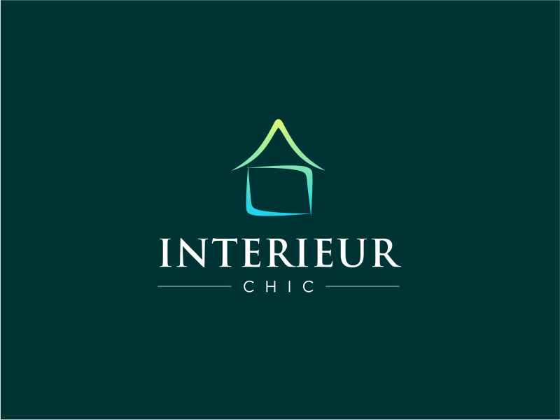 INTERIEUR CHIC logo design by MagnetDesign