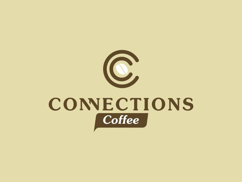 Connections Coffee logo design by gin464