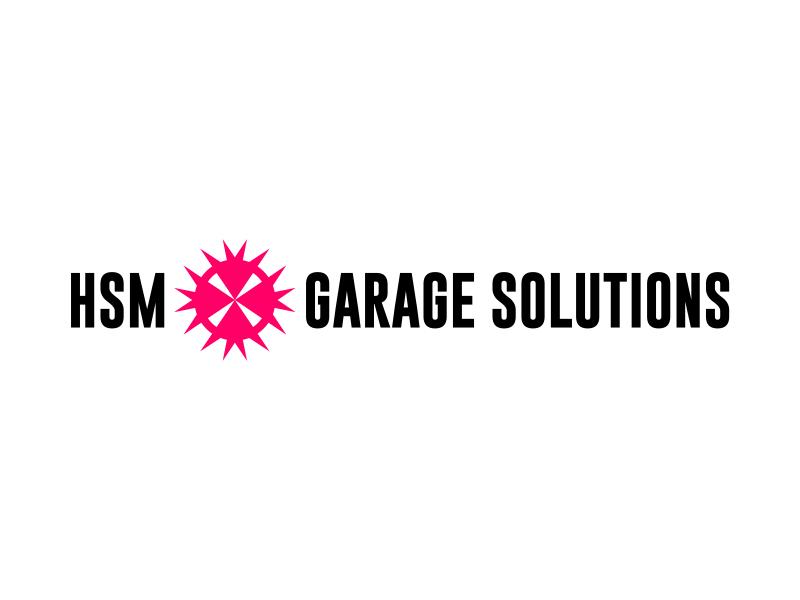 HSM Garage Solutions logo design by excelentlogo