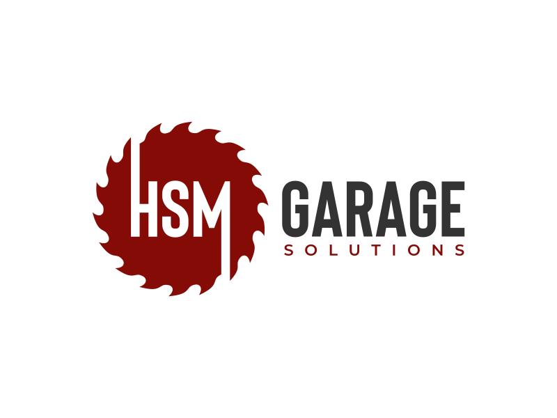 HSM Garage Solutions logo design by mutafailan