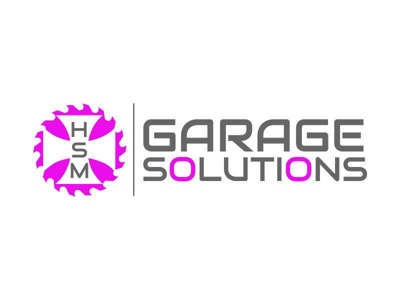 HSM Garage Solutions logo design by rgb1
