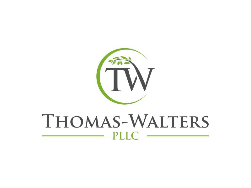 Thomas-Walters, PLLC logo design by zonpipo1