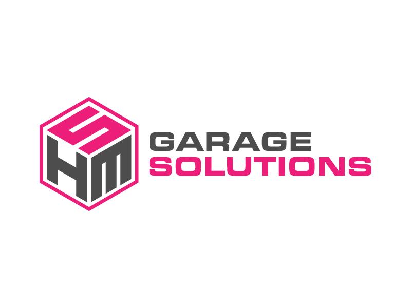 HSM Garage Solutions logo design by denfransko