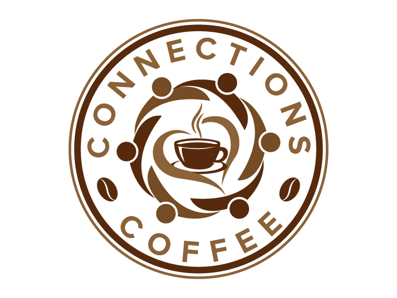 Connections Coffee logo design by jaize