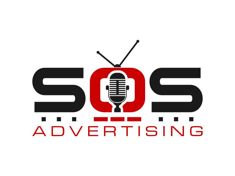 SOS Advertising Logo Design