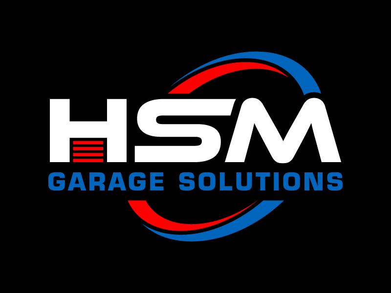HSM Garage Solutions logo design by pambudi