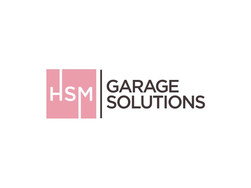 HSM Garage Solutions logo design by MUNAROH