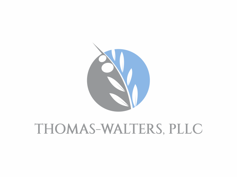 Thomas-Walters, PLLC logo design by up2date