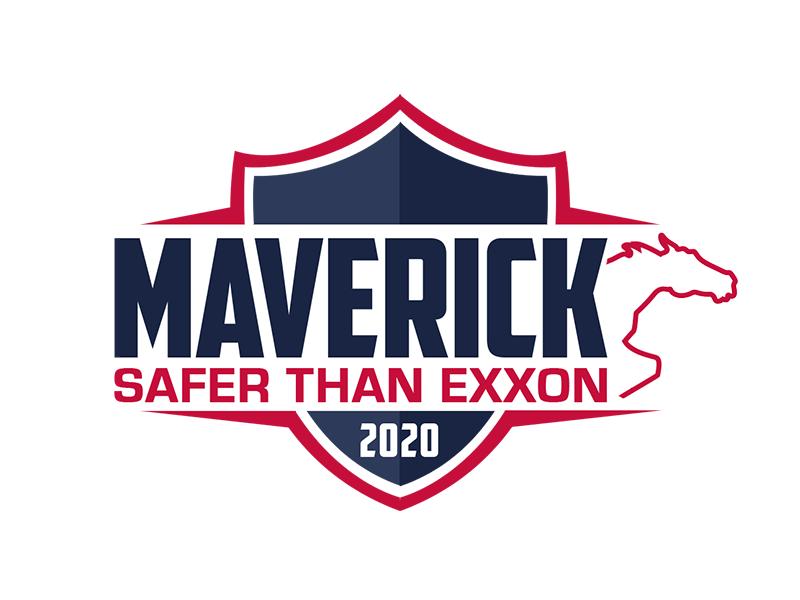Maverick 2020 Safety Badge logo design by kunejo