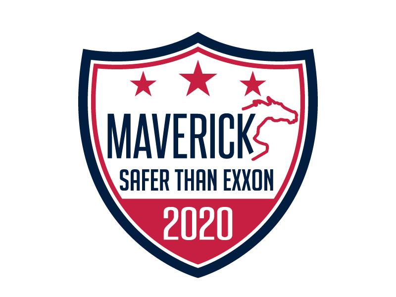 Maverick 2020 Safety Badge logo design by jaize