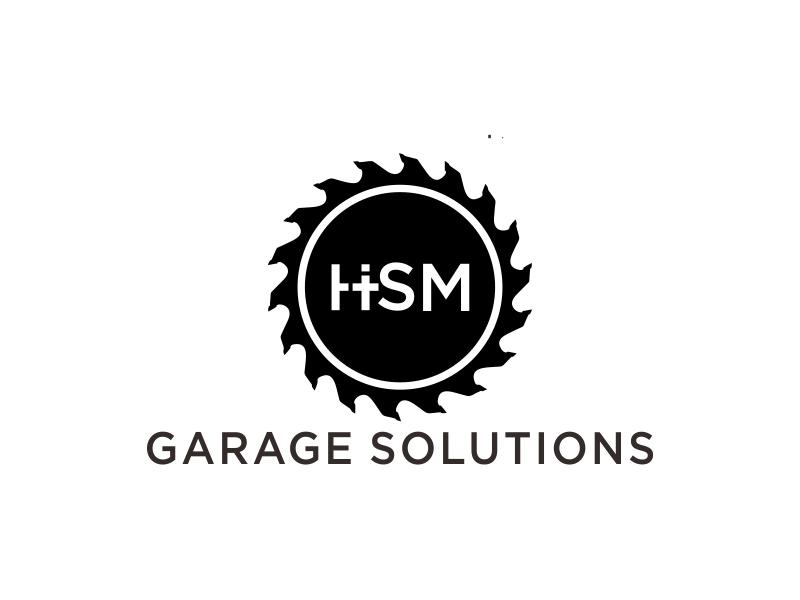 HSM Garage Solutions logo design by bismillah