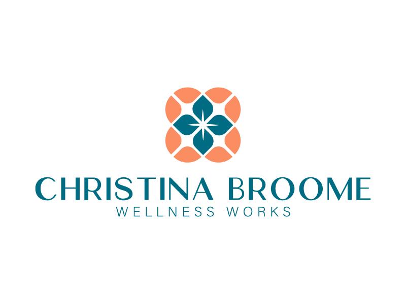 Christina Broome Wellness Works logo design by Isabela Farias