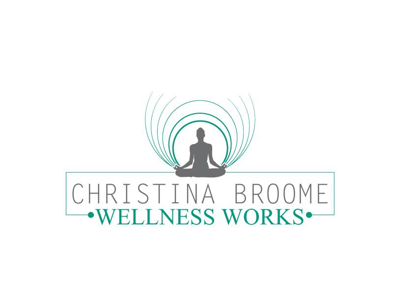 Christina Broome Wellness Works logo design by xien