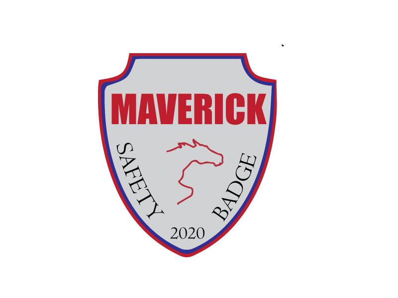 Maverick 2020 Safety Badge logo design by xien