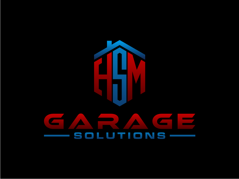 HSM Garage Solutions logo design by Arto moro