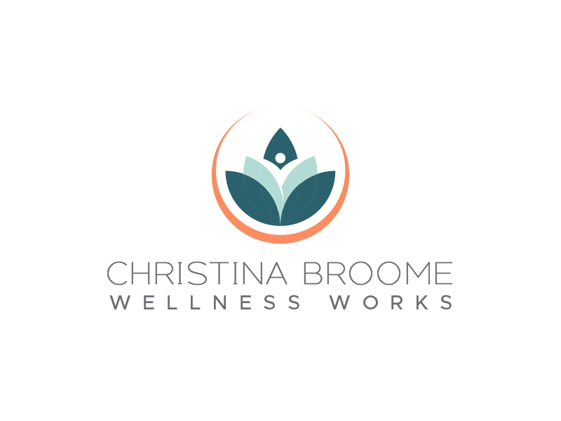 Christina Broome Wellness Works logo design by usef44