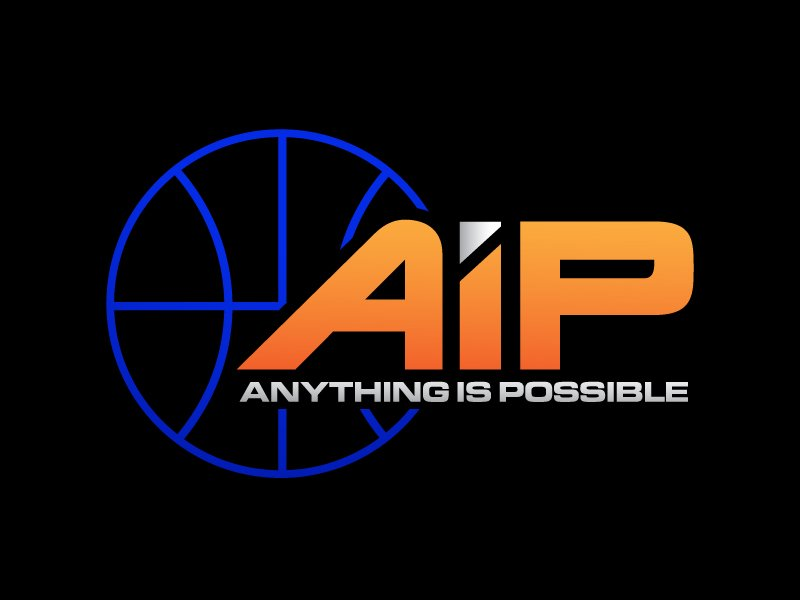 Anything Is Possible (AIP) logo design by usef44