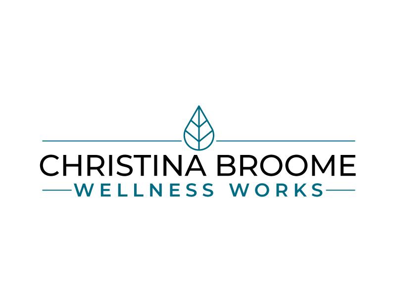Christina Broome Wellness Works logo design by sanworks
