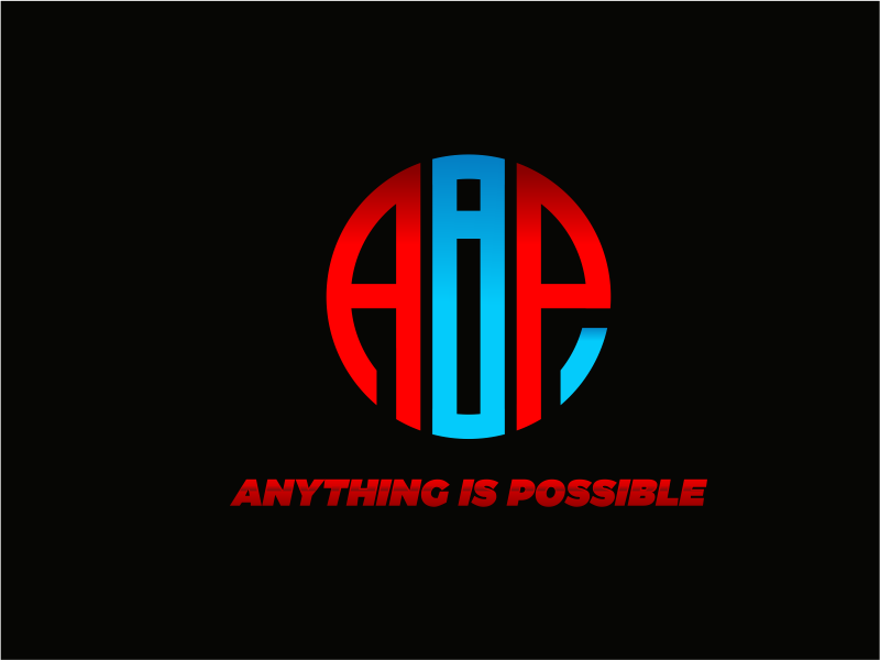 Anything Is Possible (AIP) logo design by up2date