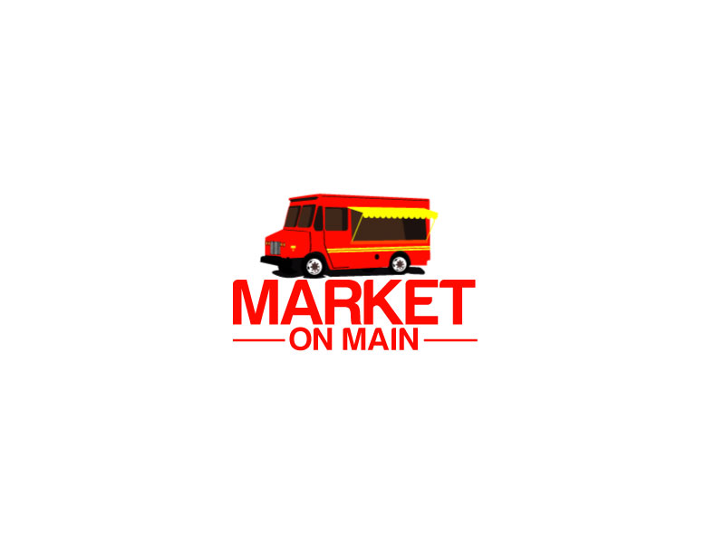 Market on Main logo design by ElonStark