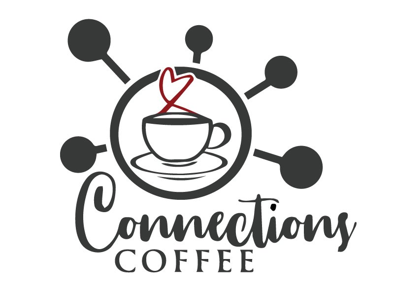 Connections Coffee Logo Design