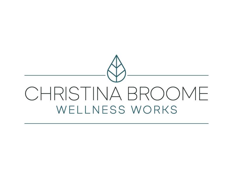 Christina Broome Wellness Works Logo Design