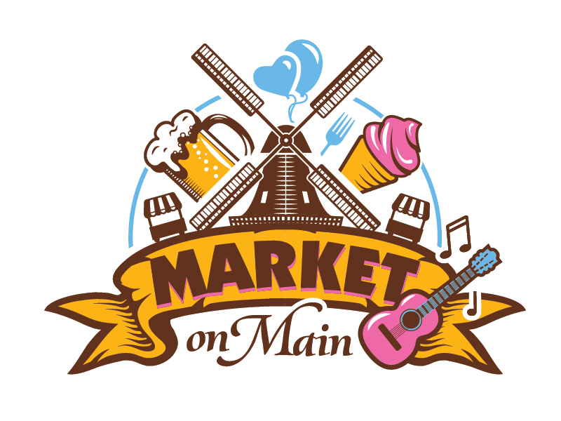 Market on Main logo design by il-in