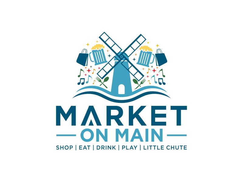 Market on Main logo design by HERO_art 86