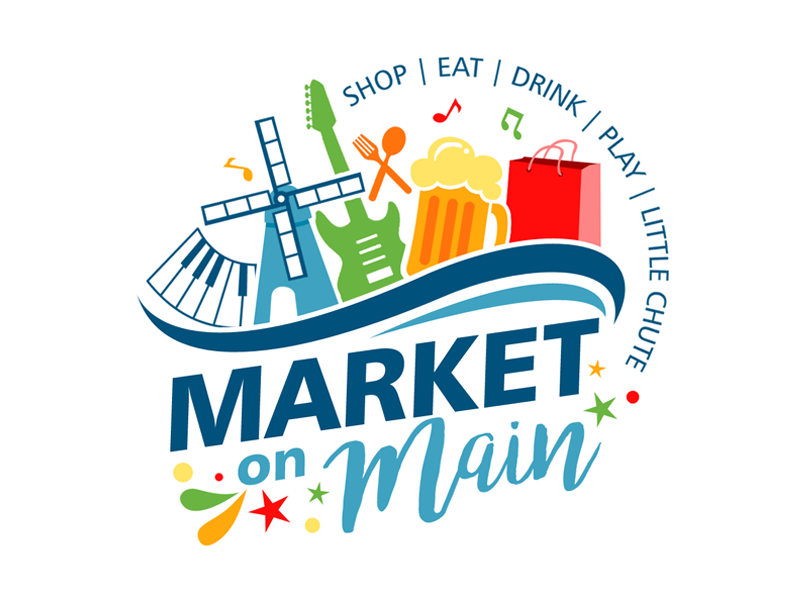 Market on Main Logo Design