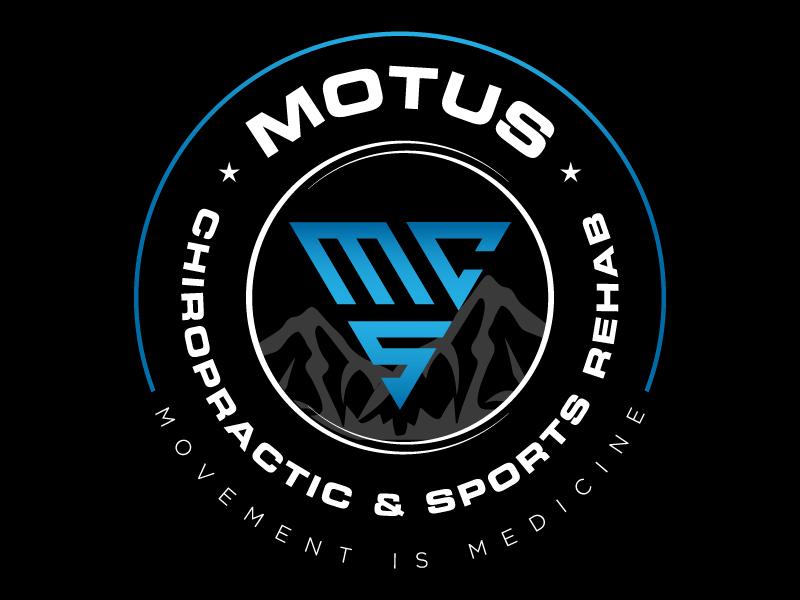 Motus Chiropractic & Sports Rehab Logo Design