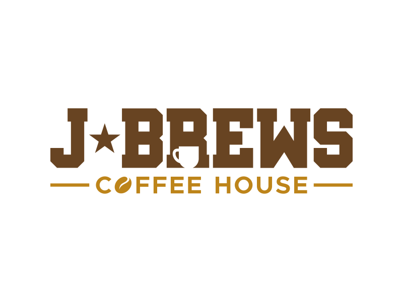 J Brews Coffee Shop logo design by Panara