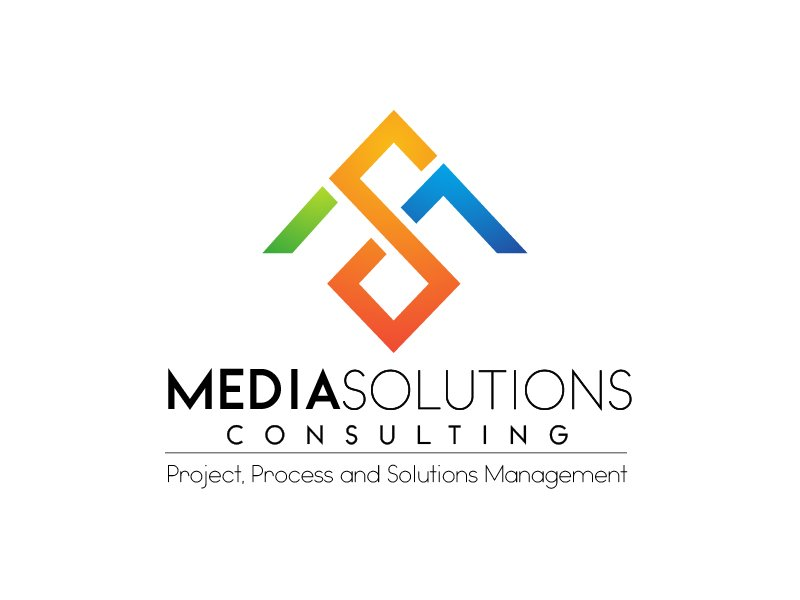 Media Solutions (Consulting) Logo Design