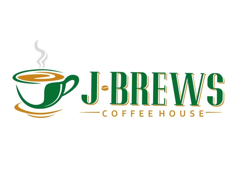 J Brews Coffee Shop logo design by ruki