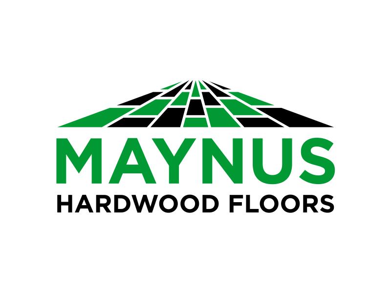 Maynus Hardwood Floors logo design by cintoko