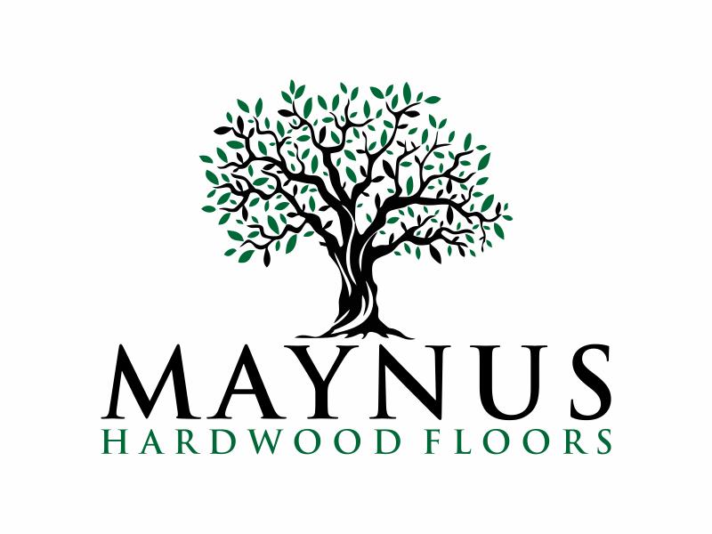 Maynus Hardwood Floors logo design by Franky.