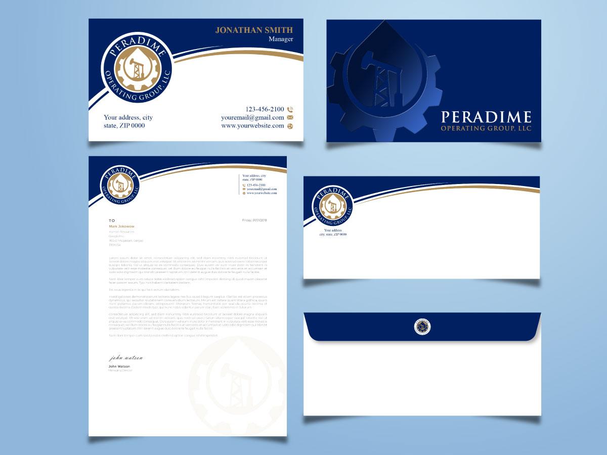 Peradime Operating Group, LLC logo design by Boomstudioz
