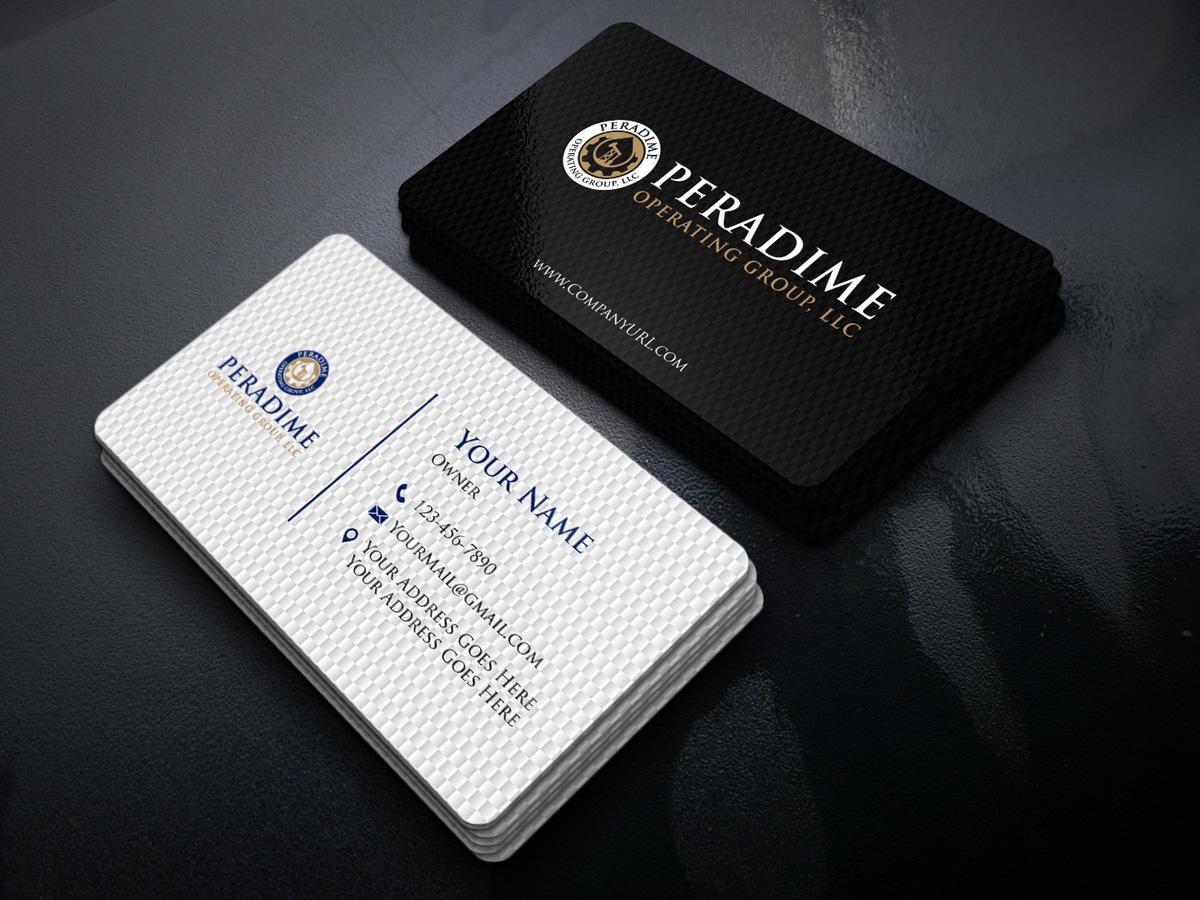 Peradime Operating Group, LLC logo design by Gelotine