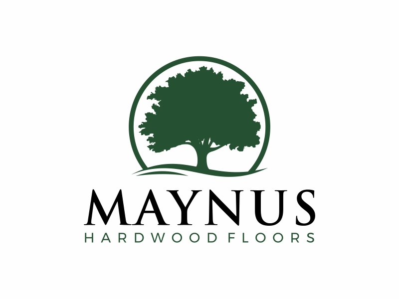 Maynus Hardwood Floors logo design by Alfatih05
