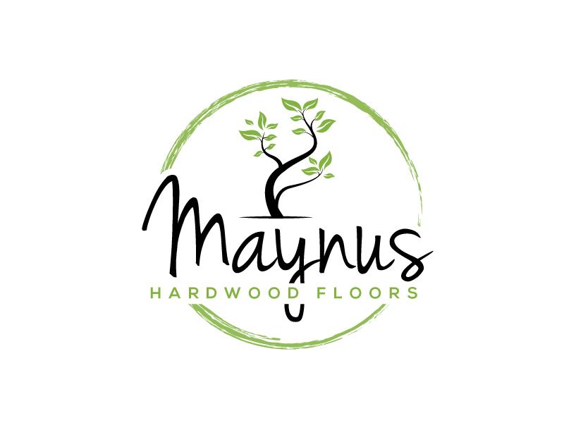 Maynus Hardwood Floors logo design by LogoInvent