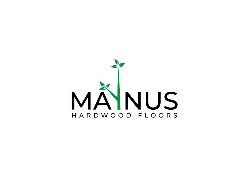 Maynus Hardwood Floors logo design by leduy87qn