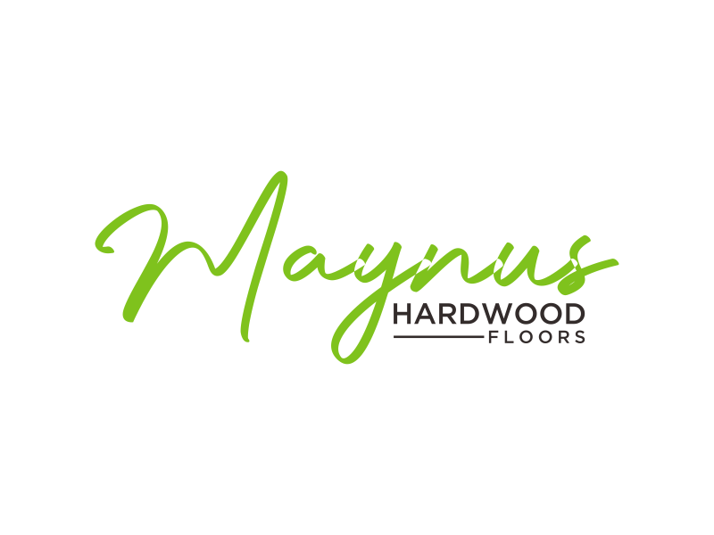 Maynus Hardwood Floors logo design by mukleyRx