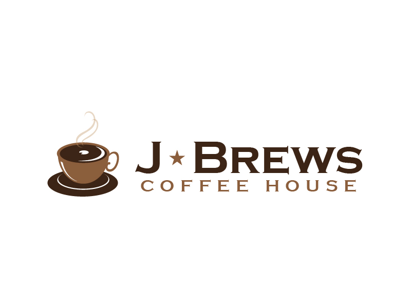 J Brews Coffee Shop logo design by usef44