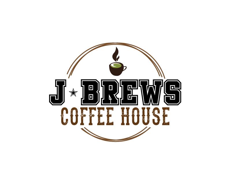 J Brews Coffee Shop logo design by xien