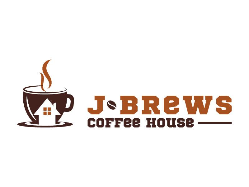 J Brews Coffee Shop logo design by aryamaity