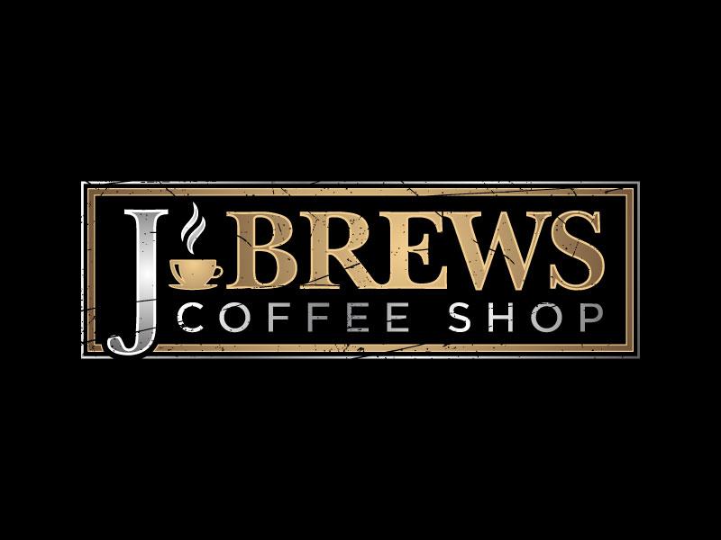 J Brews Coffee Shop logo design by nard_07