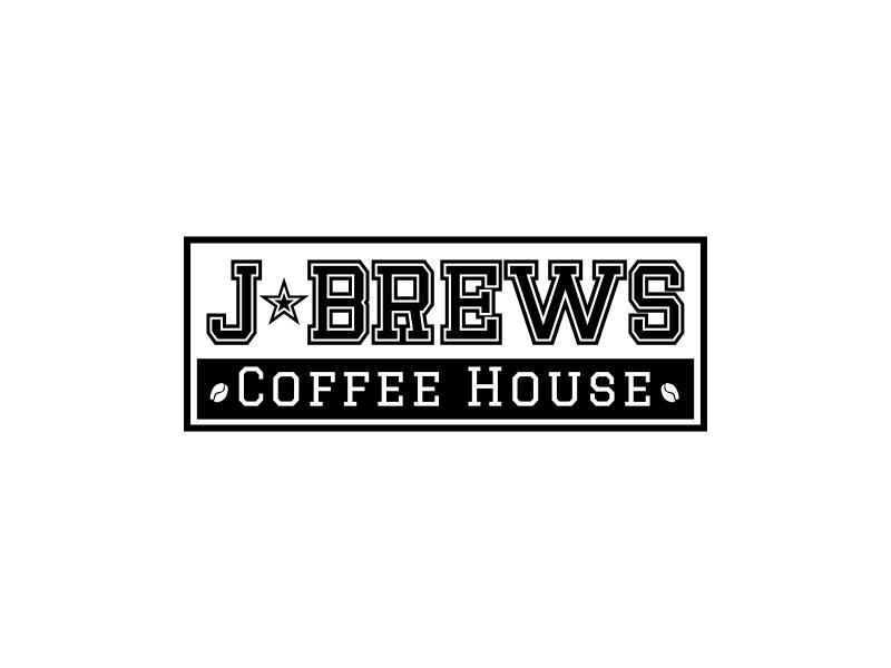 J Brews Coffee Shop logo design by gcreatives