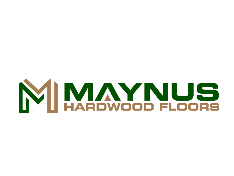 Maynus Hardwood Floors logo design by jaize
